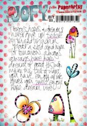 PaperArtsy Stamp - JOFY Collection JOFY89